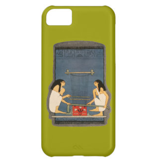 Ancient Egypt Loom Women Rug Making Hieroglyphics Case For iPhone 5C