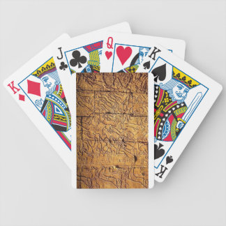 ANCIENT EGYPT MURAL BICYCLE POKER CARDS