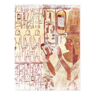 Ancient Egypt smartphones Postcard