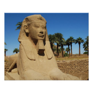 Ancient Egypt Sphinx travel picture Poster