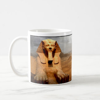 Ancient Egypt, The Great Sphinx at Gizeh. Coffee Mug
