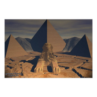 Ancient Egypt - The Sphinx Poster