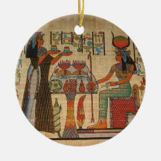 ANCIENT EGYPT WALL MURAL CERAMIC ORNAMENT