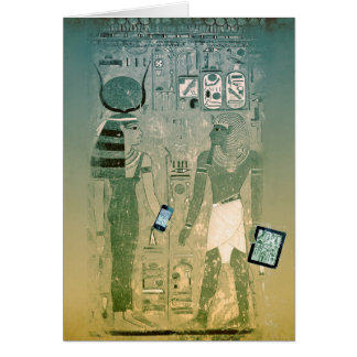 Ancient Egypt wireless Card