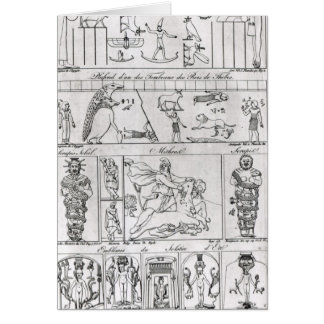 Ancient Egyptian and Persian Card