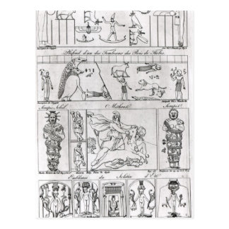Ancient Egyptian and Persian Postcard