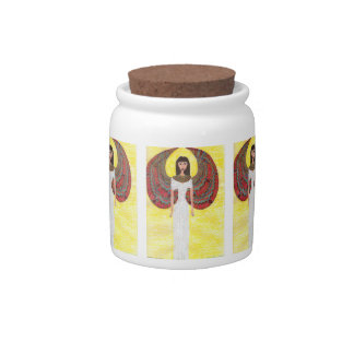 Ancient Egyptian Angel Candy Jar