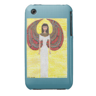 Ancient Egyptian Angel iPhone 3G Case-Mate iPhone 3 Cover