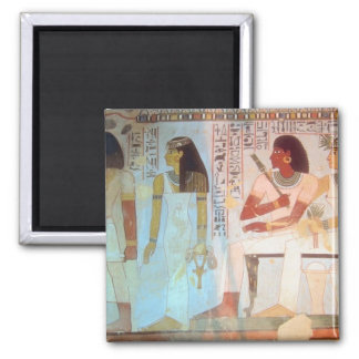 Ancient Egyptian Art 2 Inch Square Magnet