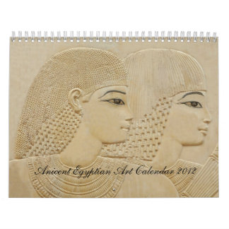 Ancient Egyptian Art Calendar 2012