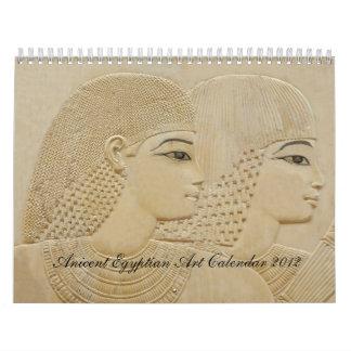 Ancient Egyptian Art Calendar 2012