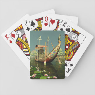 Ancient Egyptian Barge Playing Cards