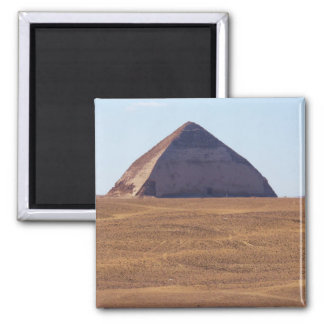 Ancient Egyptian Bent Pyramid - Dahshur 2 Inch Square Magnet