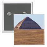 Ancient Egyptian Bent Pyramid - Dahshur 2 Inch Square Button
