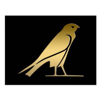 Ancient Egyptian bird – goddess Nekhbet Postcard