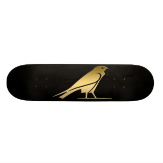 Ancient Egyptian bird – goddess Nekhbet Skateboard Deck