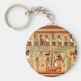 Ancient Egyptian Book of the Dead. Key Chains