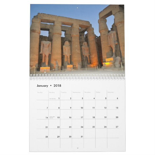 Ancient Egyptian Buildings Calendar 2012