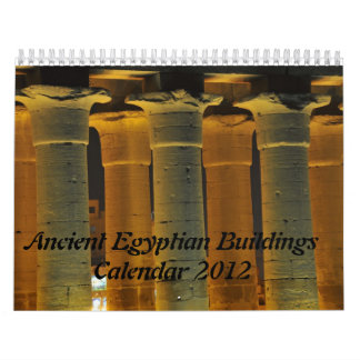 Ancient Egyptian Buildings Calendar 2012