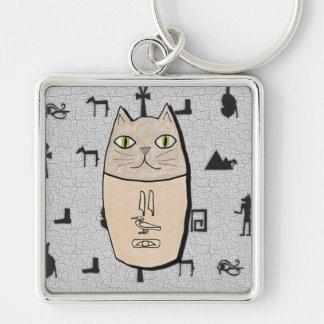 Ancient Egyptian Canopic Kitty Keychain