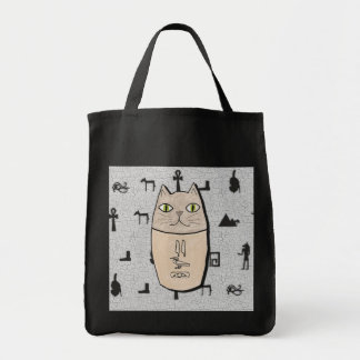 Ancient Egyptian Canopic Kitty Tote Bag