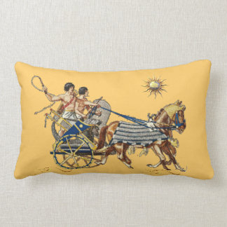 Ancient Egyptian Chariots 4 Pillow