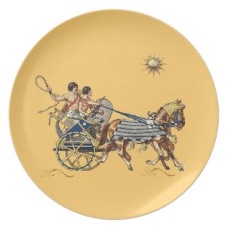 ancient egyptian chariots Plate