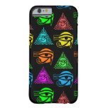 Ancient Egyptian Eye of Horus Pagan Symbol Barely There iPhone 6 Case
