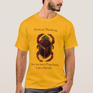 Ancient Egyptian Funny Scarab Design T-Shirt
