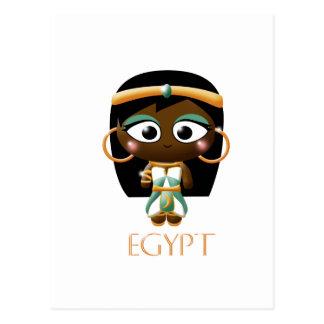 Ancient Egyptian Girl Postcard