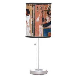 Ancient Egyptian God Black Osiris Table Lamp