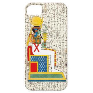 Ancient Egyptian God Goddess Hieroglyphics Design iPhone SE/5/5s Case