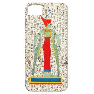 Ancient Egyptian God Sobek Hieroglyphics Design iPhone SE/5/5s Case