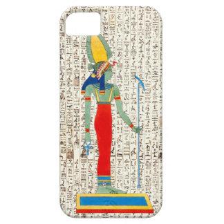 Ancient Egyptian Goddes Hieroglyphics Design iPhone SE/5/5s Case