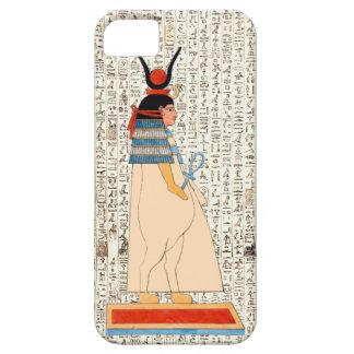 Ancient Egyptian Goddess Hieroglyphics Design iPhone 5 Case