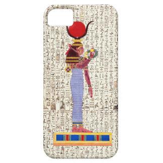 Ancient Egyptian Goddess Hieroglyphics Design iPhone SE/5/5s Case
