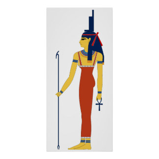 Ancient Egyptian Goddess Isis Posters