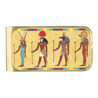 Ancient Egyptian Gods 3 Money Clip