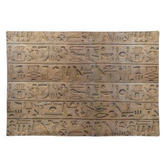 Ancient Egyptian Hieroglyphs Designer Gift Placemat
