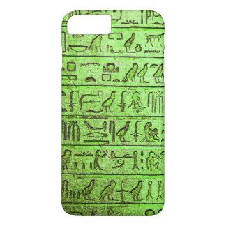 Ancient Egyptian Hieroglyphs Green iPhone 7 Plus iPhone 7 Plus Case