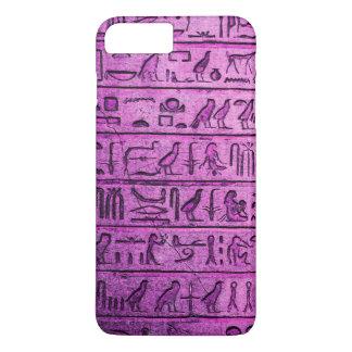 Ancient Egyptian Hieroglyphs Purple iPhone 7 Plus iPhone 7 Plus Case