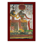 Ancient Egyptian Horus Greeting Card