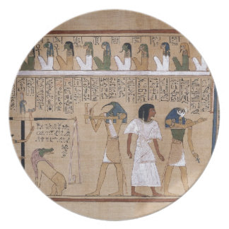 Ancient Egyptian Melamine Plate