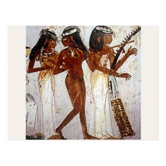 Ancient Egyptian Music Postcard