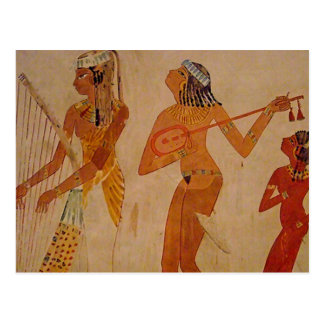 Ancient Egyptian Music Postcards