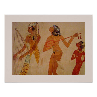Ancient Egyptian Music Poster