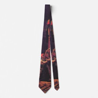 Ancient Egyptian Musicians 1863 b Neck Tie