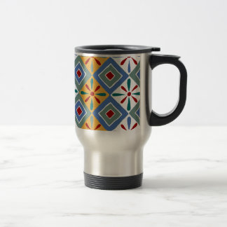 Ancient Egyptian Pattern: Thebes 15 Oz Stainless Steel Travel Mug