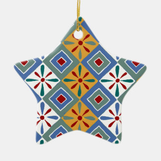 Ancient Egyptian Pattern: Thebes Christmas Tree Ornament