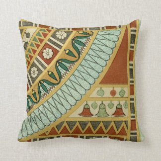 Ancient Egyptian Pattern Throw Pillow